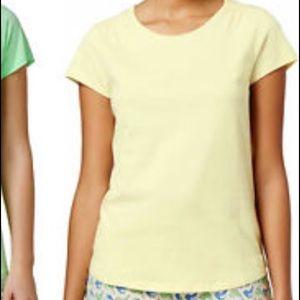 CHARTER CLUB size L Short Sleeve Top/shirt NWT